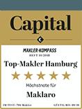 Auszeichnung Capital Top-Makler Hamburg